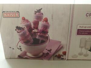 Original Kaiser 8 Push Up Container, Set of 8 Stick, desert, cake pop, bake BNIB
