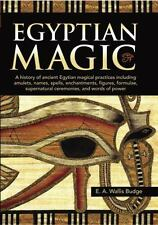 NEW Egyptian Magic: A history of ancient .. 9780785832867 by Budge, E. A. Wallis