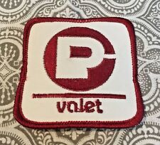 "Parking Valet Patch  2 1/2 "" Square #154"