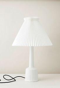 LYNGBY Le Klint Lampe Designer TISCHLEUCHTE Weiss Porzellan Klassiker Leucht NEU