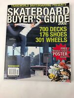 2002  Collectable Transworld Skateboard Magazine Buyer's Guide Magazine Koston