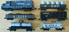 N scale High Speed engine, caboose, 4 cars Southern Pacific - for display only