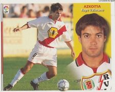 AZKOITIA # ESPANA RAYO VALLECANO LIGA 2003 ESTE STICKER CROMO