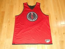 Vintage Nike ST JOHNS RED STORM #5 Mens NCAA Reversible Practice Team JERSEY 2XL