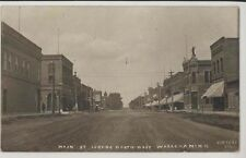 1909 Main St. Wabasha MN Minnesota real photo RPPC