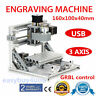 3 Axis 1610 MINI CNC Router Engraver DIY 500mw laser USB Engraving Machine GRBL