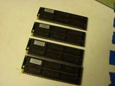 Motorola 70ns 30 pin simm memory 4-1mb modules 9 chip zip 4mb total