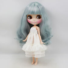 """Takara 12"""" Neo Blythe Curly Hair  joint body Nude Doll from Factory TBY232"""
