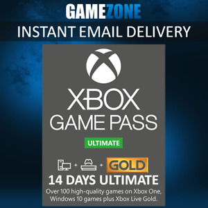 Xbox Game Pass 14 Days Ultimate Xbox Live Gold Membership For Xbox One 2 Week