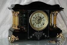 Antique Seth Thomas Shelf Mantle Clock-Totally!-Restored- c/1900-Shasta Model