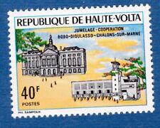 Alto Volta 1971 twin city cooperation cooperazione gemellaggi città MNH**og