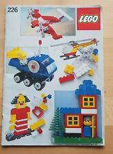 Lego Bauanleitung 226 Ideen Buch von 1981 keine Steine