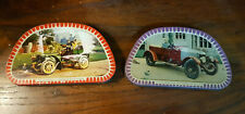 More details for vintage two  sharps toffee montagu motor museum tins (one a/f)