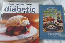 """TWO """"DIABETIC"""" COOKBOOKS VERY GOOD USED CONDITION"""