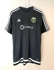 Portland Timbers Adidas Soccer Simple Pre-Match Jersey Large Excellent Condition