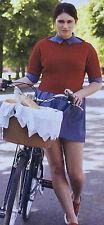 KNITTING PATTERN Ladies Textured Design Sweater Short Sleeve Jumper Artesano