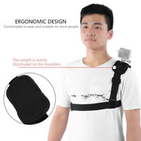 For GoPro SJCAM Xiaomi Yi Shoulder Chest Strap Mount Harness Belt Accessoriers