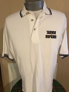 Vintage Boxing Polo Antonio Tarver vs Bernard Hopkins Size Large Fight Shirt EUC