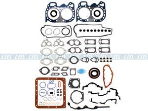 For Subaru 1800 Loyale XT 1.8L EA82T SOHC Full Gasket Set