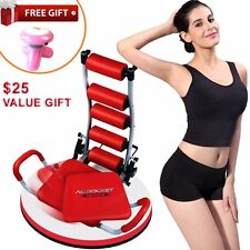New AB Rocket Twister Abdominal  Fitness Gym Exercise Machine DVD + Free Gift