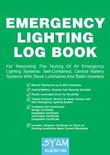 Emergency Lighting Log Book ELB/SC160 Syam Emergency Lighting Log