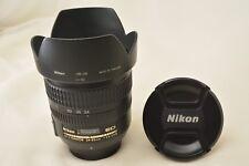 #134 Nikon AF-S Nikkor 24-85mm F3.5-4.5G ED With Hood, F & R Caps From Japan