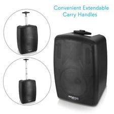 Pyle PPHP8MBA Bluetooth Portable PA Speaker System, MP3/USB/SD/FM Radio
