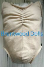 More details for doe suede reborn doll body- full limb- choose colour and size- brentwood dolls
