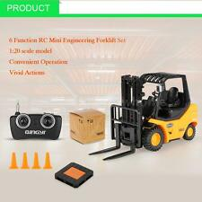 100% RUICHUANG 1/20 6 Function RC Mini Engineering Forklift Truck RTR Car Q4C7