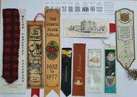 10 x Vintage Collectable Assortment of Bookmarks Souvenirs - (B62b)