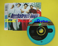 CD Singolo BACKSTREET BOYS I want it that way 1999 eu JIVE no lp mc dvd(S12*)