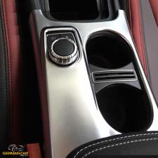 Für Mercedes CLA, A und GLA Chromrahmen Blende Getränkehalter Mittelkonsole