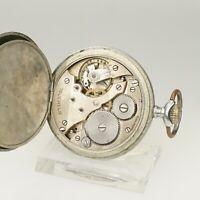 Rare! Mechanische Taschenuhr Herren Uhr Uhren no spindel chronometer armbanduhr