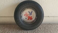 Vintage The Spirit of 76 Firestone Steel Radial 500 Rubber Tire Ashtray
