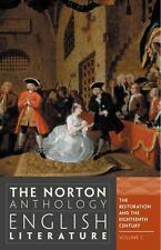Norton Anthology English Literature Volume C, The Restoration & the 18th Century