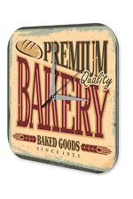 Horloge Rétro Enregistrez-Vous  Prime de Baker Imprimee Acrylglas