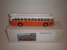 1/43 Bus GM-4506 St Louis Old look Handmade by VectorModels