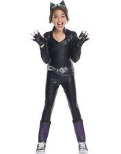 Dc Super Hero Girls Deluxe Catwoman Child Superhero Halloween Costume-M