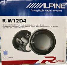 Brand NEW Alpine R-W12D4 12