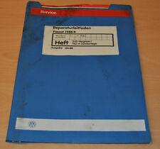 VW Passat B2 Typ 32 2E3 Vergaser TSZ-H Zündanlage EZ RF 1988 Werkstatthandbuch