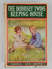 The Bobbsey Twins Keeping House by Laura Lee Hope HCDJ Hardcover #18