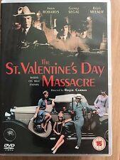Jason Robards George Segal ST VALENTINE'S DAY MASSACRE ~ 1967 Crime Saga UK DVD