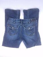 SILVER Jeans Suki Surplus Size 30 x 30