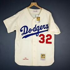 100% Authentic Sandy Koufax Mitchell Ness Dodgers 1965 Jersey Size 36 S Mens