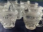 Vintage Wexford Anchor Hocking Glass 10 Punch Cups