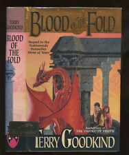 Goodkind, Terry: The Blood of the Fold ** Signed ** HB/DJ 1st/1st