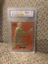 Michael Jordan 1996 Fleer Ultra Court Masters  23KT Gold Card Graded 10