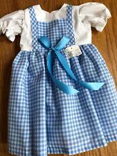 Dorothy Dress for American Girl Doll