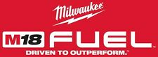Milwaukee Fuel Tools Sticker Hammer Saw Drill Impact Combo Kit Wrench 18 M18 M12