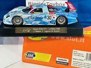 1/32 Auction 22 of 42 SLOT.IT Nissan R390 GT1 No.30 LeMans 98 Ref: CA14c SlotCar